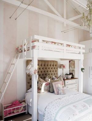 梦幻上下床卧室床款式
