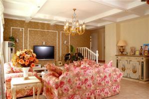 公寓简欧客厅家具
