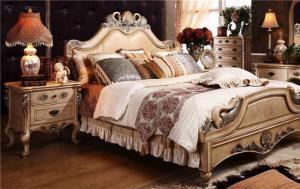 欧式床家具搭配