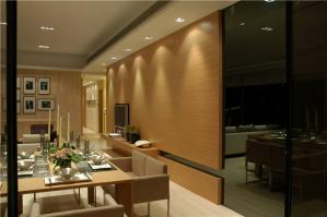 公寓中式餐桌图片
