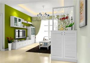 公寓白色鞋柜