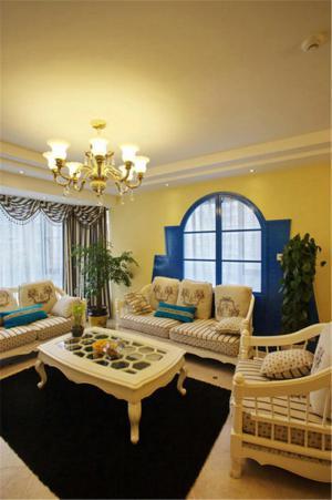 家装美式客厅家具