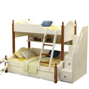 地中海风格设计卧室二层床