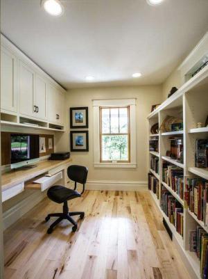 板式家具家庭书房装修效果