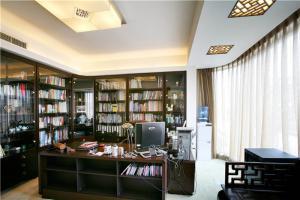 办公环境现代书房装修效果图
