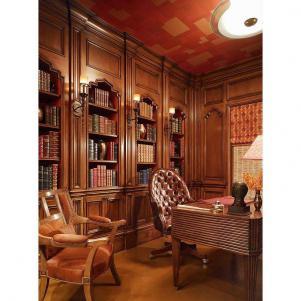 宫廷式古典书房装修效果图