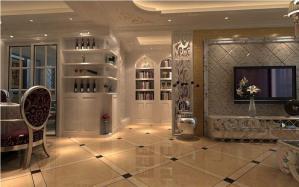 走廊简欧书房装修效果图