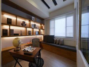 时尚家庭书房装修效果图