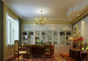 新古典风格书房设计图