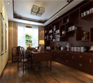 中式风格书房装修设计