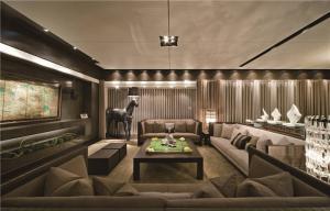 现代客厅茶几高度