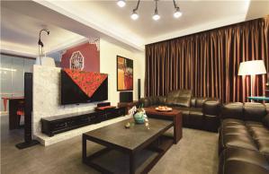 温馨客厅沙发