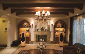 简欧客厅家具图片