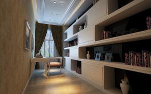 113平家庭书房装修效果
