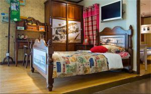 卧室儿童床家具品牌