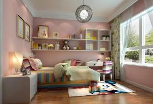 2016年的小孩书房装修效果图