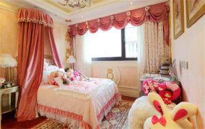 温馨童年卧室儿童床
