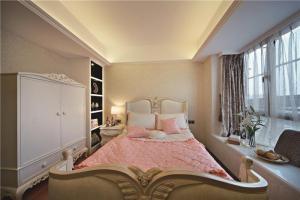 小清新卧室飘窗装修效果图欣赏