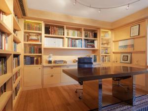 时尚家居现代书房装修效果图