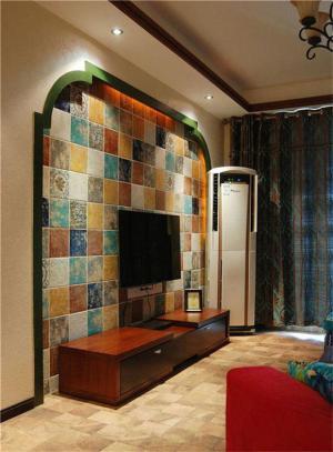 两居室地中海风格背景墙