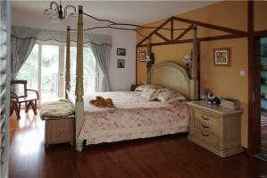 欧式卧室田园风格床