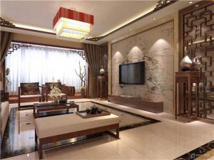 中式风格客厅背景墙