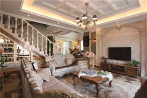 简欧客厅组合沙发
