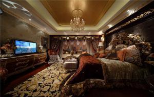 豪华卧室电视柜