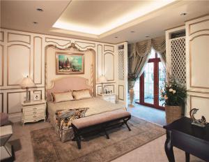 创意小户型卧室飘窗设计图片