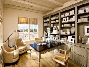古典书房装修效果图颜色搭配