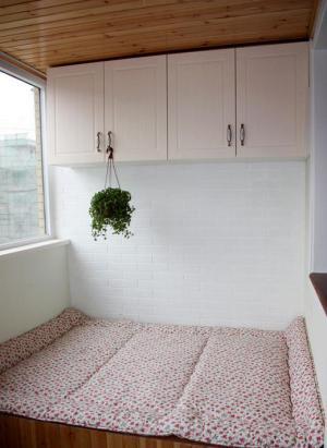 韩式榻榻米阳台改造卧室
