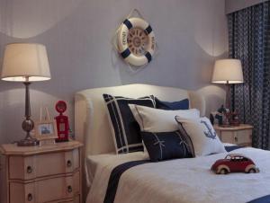 地中海风格床头设计