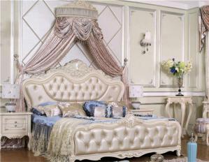 欧式床实木家具