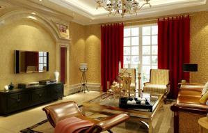 欧式装修客厅