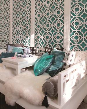 客厅组合沙发装饰