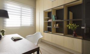 两室两厅现代简约书房装修效果图
