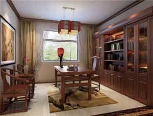 古风家庭书房装修效果图