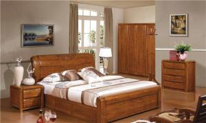 实木套房家具床