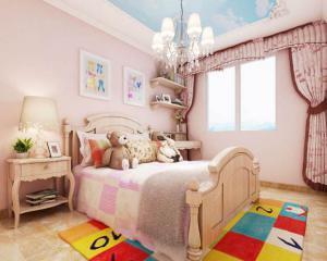 小美式风格卧房