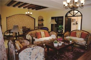 豪华客厅组合沙发