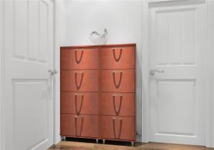 小户型红木鞋柜