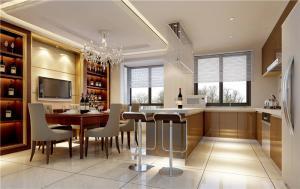 时尚客厅小餐桌图片