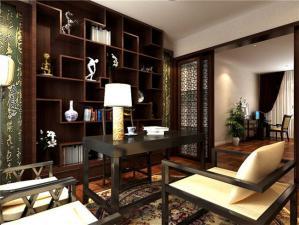 三居室简欧书房装修效果图