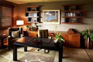 三室一厅多功能书房装修效果图