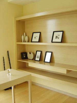 普通家用现代简约书房装修效果图