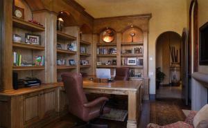书房布置效果图美式家具搭配