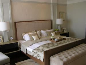 卧室二层床整体设计