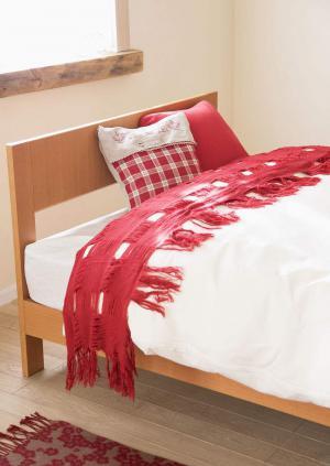 彩色小卧室床