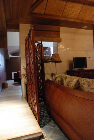 中式沙发搭配