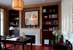 书房装饰设计素材免费设计